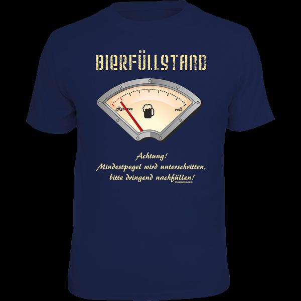 """T-Shirt """"Bierfüllstand"""""""