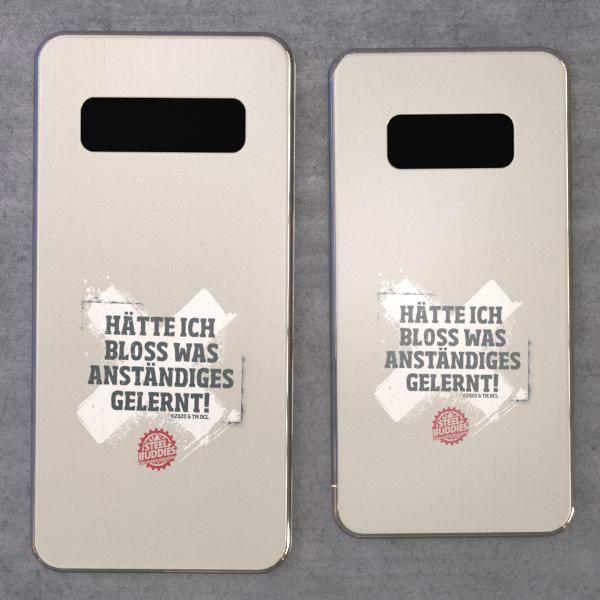 """Steel Buddies Cover """"Gelernt"""" für Galaxy S Modelle"""