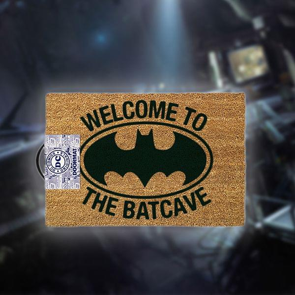 "Fußmatte ""Welcome to the Batcave"""