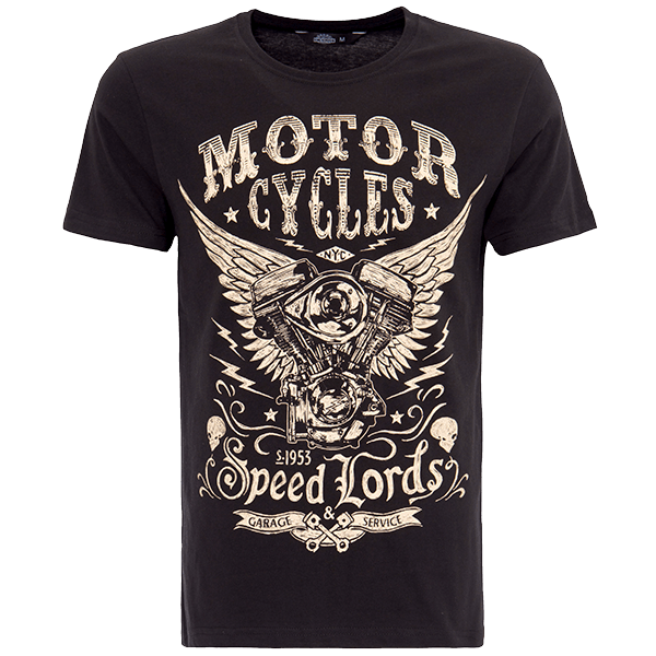 "King Kerosin T-Shirt ""Motor Cycles"""