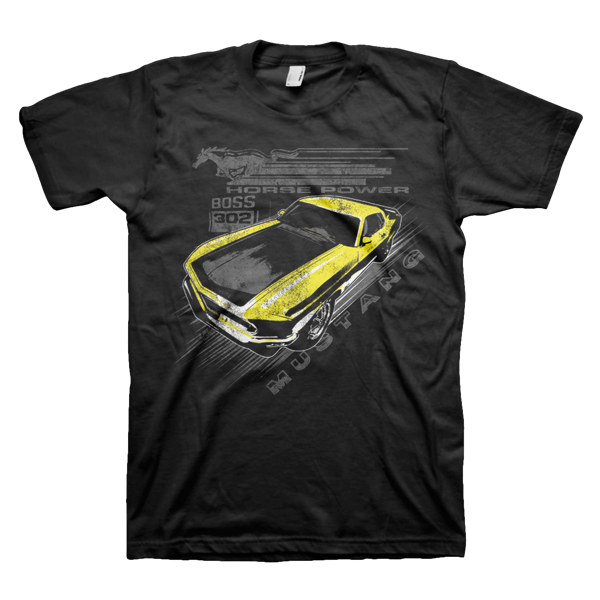 Ford Mustang Vintage T-Shirt