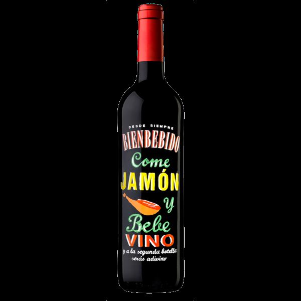 "Rotwein ""Jamón"" - perfekt zu Schinken"