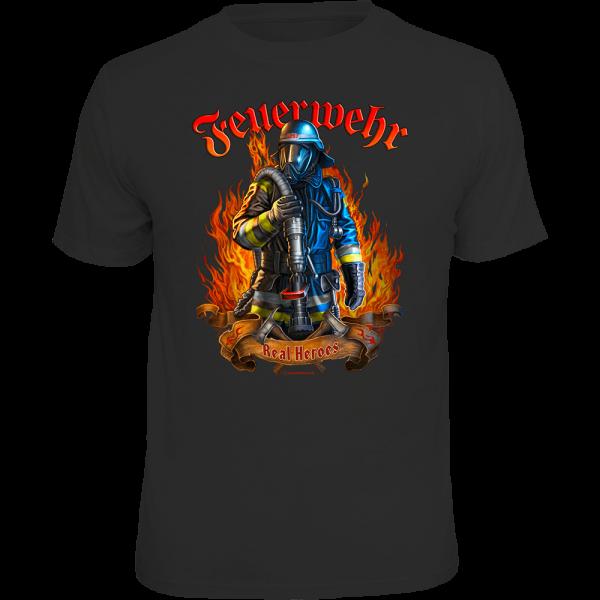 "T-Shirt ""Real Heroes"""