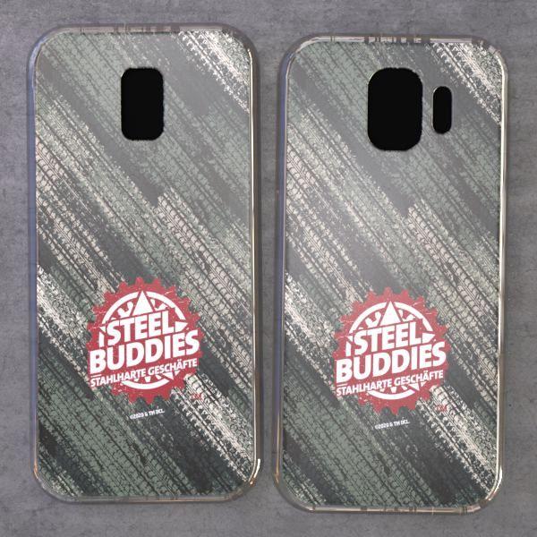 """Steel Buddies Cover """"Logo"""" für Samsung Galaxy J Modelle"""
