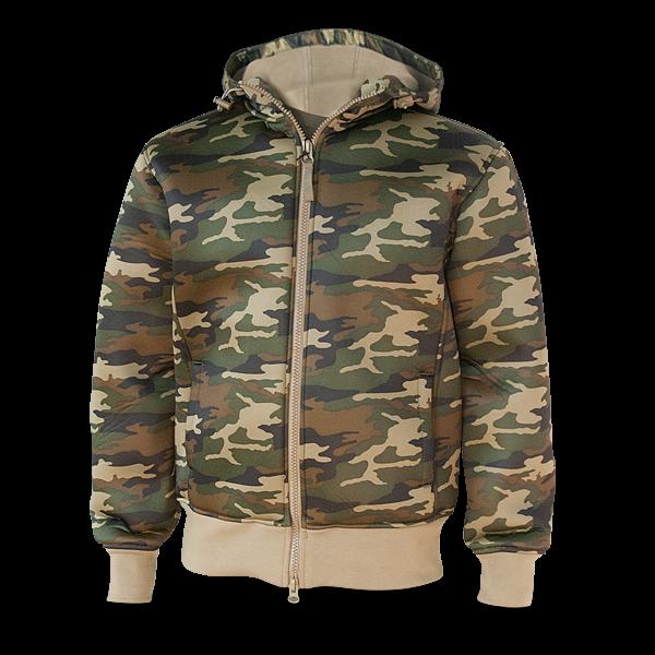 """Neopren Kapuzenjacke """"Camouflage"""""""
