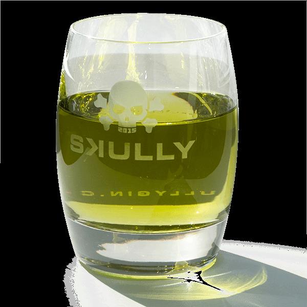 "Trinkglas ""Skully Gin"""