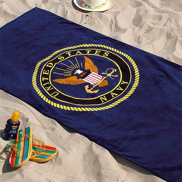 """Badetuch """"United States Navy"""""""