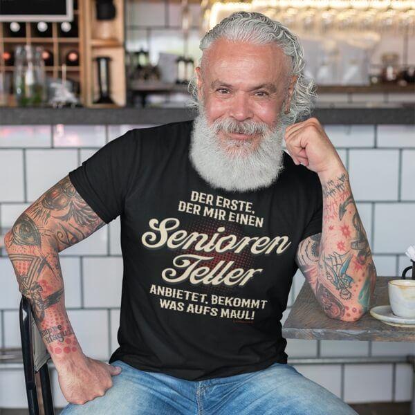 """T-Shirt """"Seniorenteller"""""""
