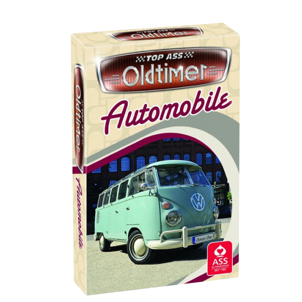 Oldtimer Automobile Quartett
