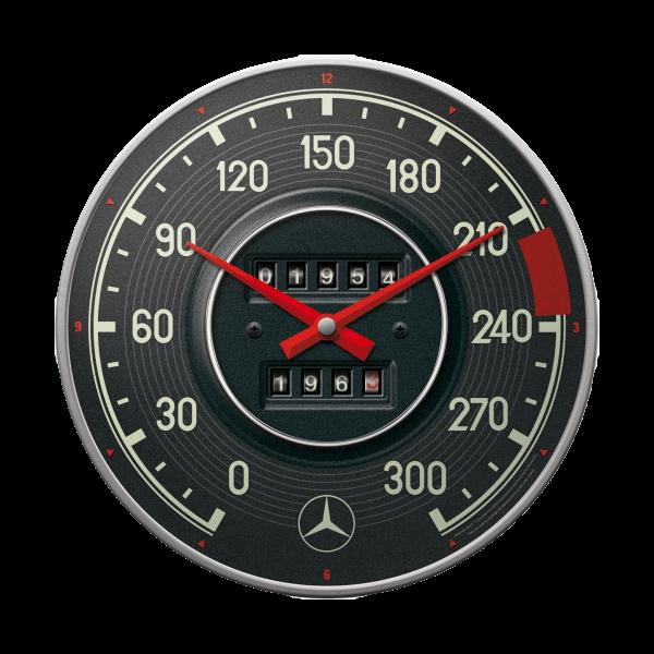 "Wanduhr ""Mercedes Benz SL Tacho"""
