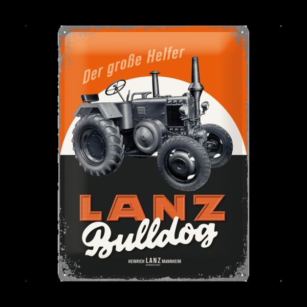 """Blechschild """"Lanz Bulldog"""""""