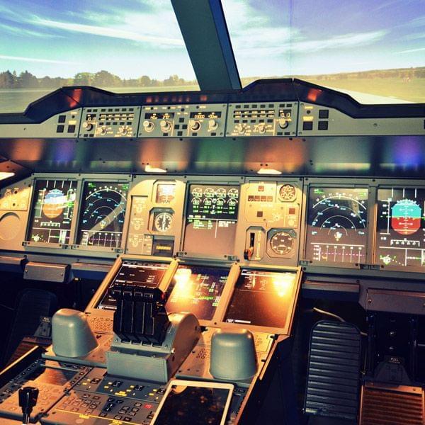 Gutschein für professionellen Flugsimulator