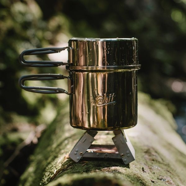 Edelstahl Topf von Esbit (1 Liter)