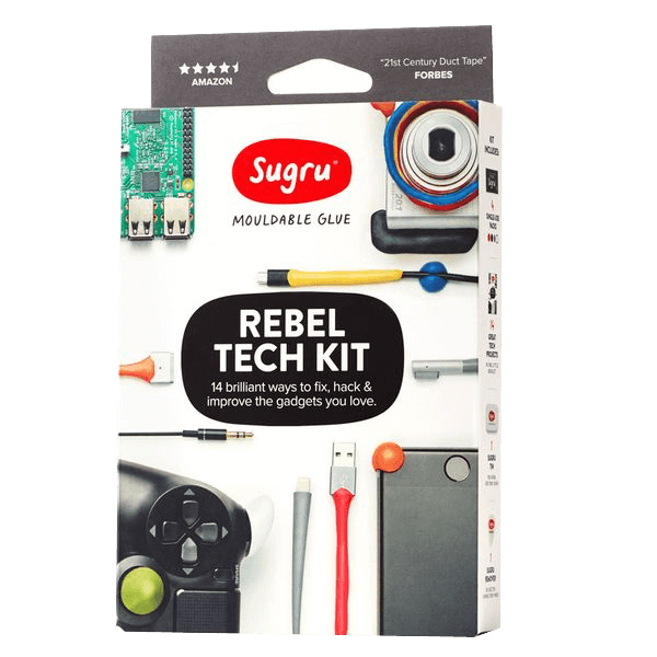 Sugru formbare Klebemasse - Rebel Tech Kit