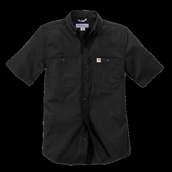 Kurzarm Stretch-Hemd mit Reißverschlusstasche von Carhartt