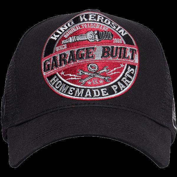 "King Kerosin Trucker Cap ""Garage Built"""