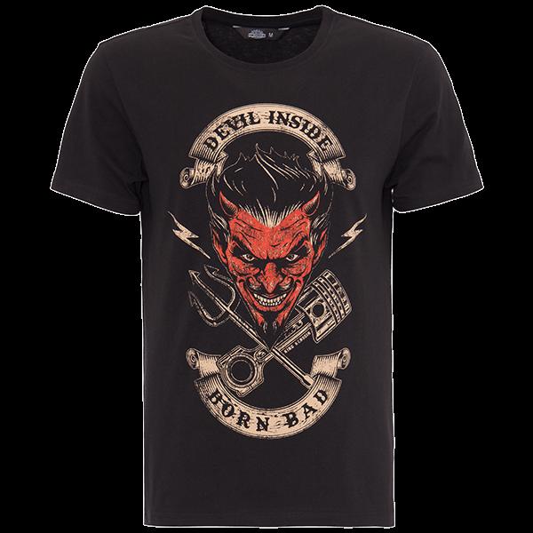 "King Kerosin T-Shirt ""Devil Inside"""