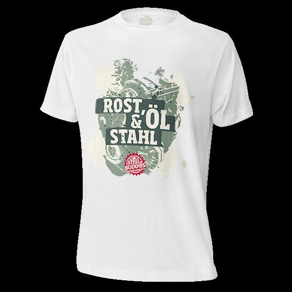 """Steel Buddies T-Shirt """"Rost, Öl & Stahl"""""""