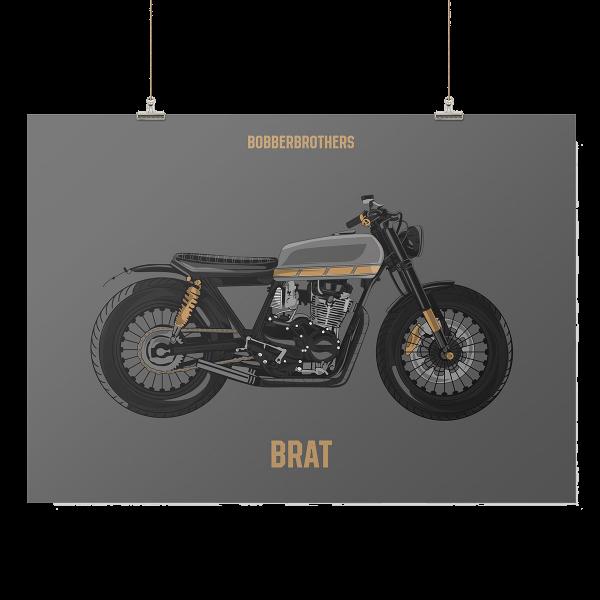 """Kunstdruck """"Brat"""" von Bobber Brothers"""