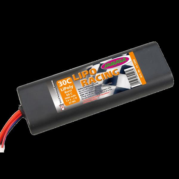 Akkupack LiPo-Racing 7,4 V, 5000 mAh 2N 30C