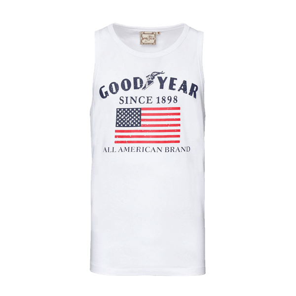 "Goodyear Tank Top ""Flag"""