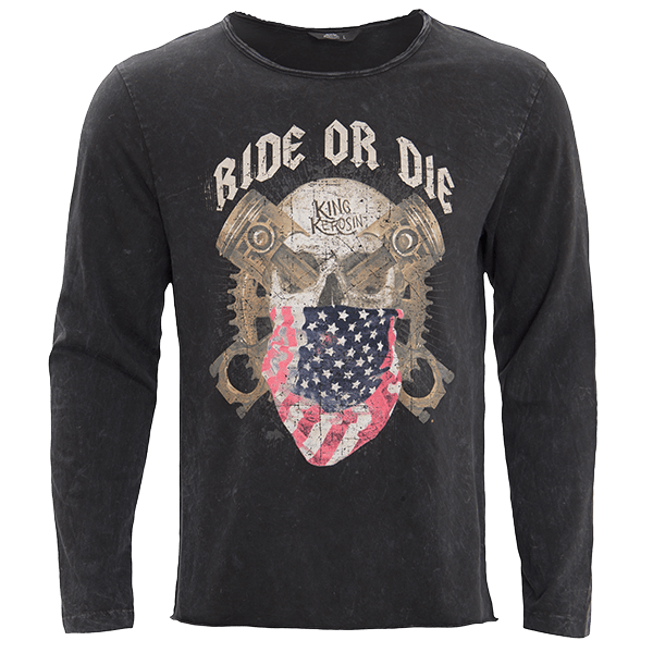 "King Kerosin Longsleeve ""Ride or Die"""