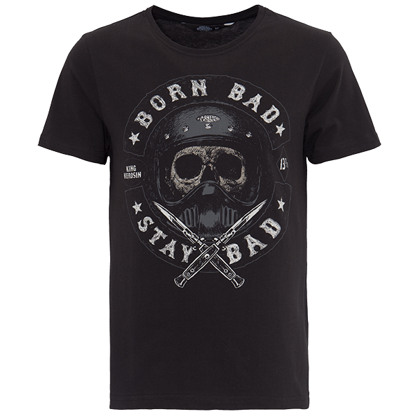 "King Kerosin T-Shirt ""Born Bad"""