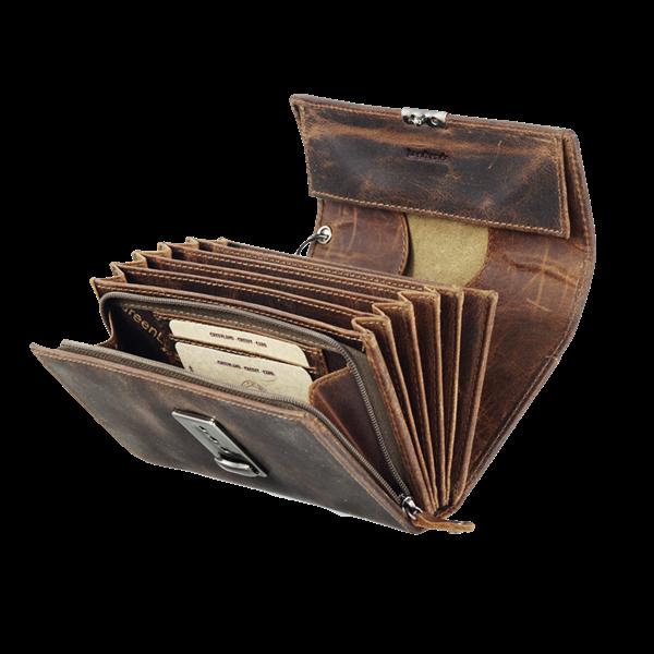 Kellnerbörse aus Leder im Used-Look
